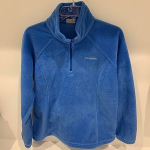 Columbia fleece 1/4 zip pullover